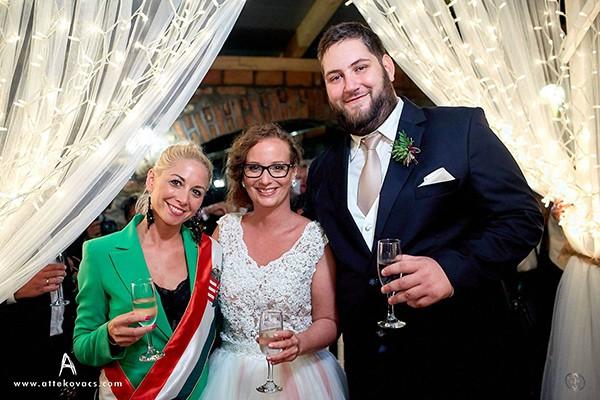 Szertartásvezető, Polgári szertartás, Esküvő szertartás | Judit & Milán
