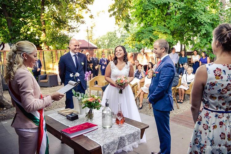Szertartásvezető, Polgári szertartás, Esküvő szertartás | Adri & Szabi