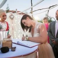 Szertartásvezető, Polgári szertartás, Esküvő szertartás | Csilla & Krisztián