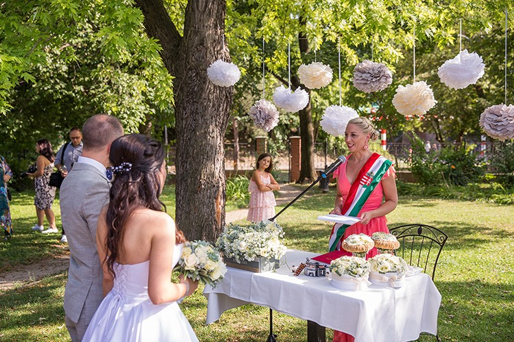 Szertartásvezető, Polgári szertartás, Esküvő szertartás | Csilla & András