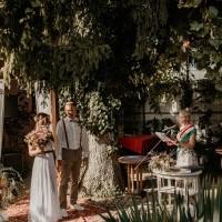 Szertartásvezető, Polgári szertartás, Esküvő szertartás | Gabi & Dave
